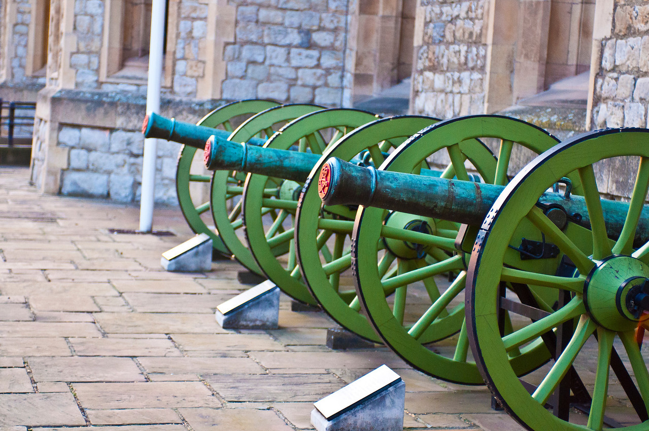 Cannons Tower Castle, London England
