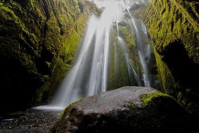 Gljúfrafoss Falls Iceland