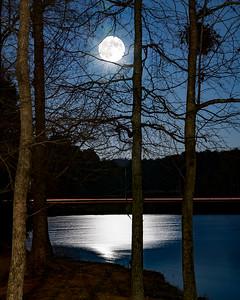 Wolf moon Supermoon