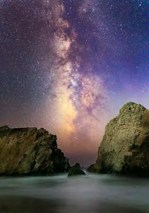 Pfeiffer Beach Milky Way