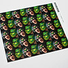 "Your image on a sheet of twenty, 1.57"" x 2.32"" stickers."