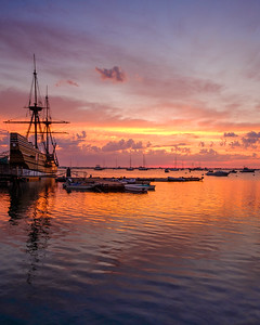 Mayflower II Sunrise