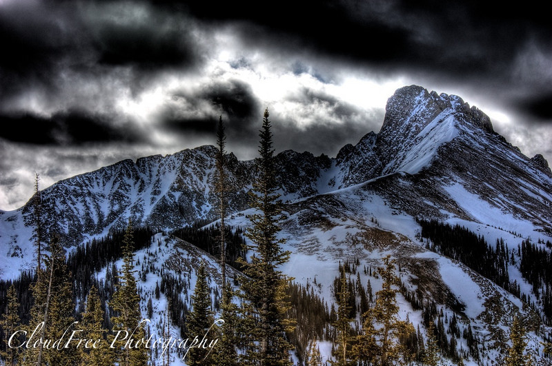 The Crags, Cameron Pass, CO (HDR)
