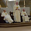 Fr. Ed invites the congregation to express their support for the jubilarians