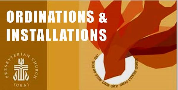 Ordinations & Installations