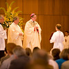 The Most Reverend Richard G. Lennon, the bishop of Cleveland, presided over the ordination mass.