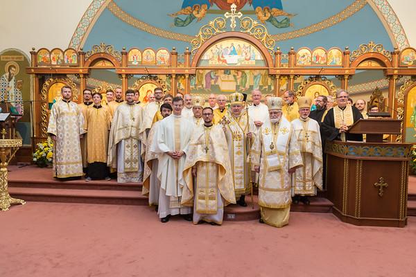 Ordination of Cyril Pinchak, SJ