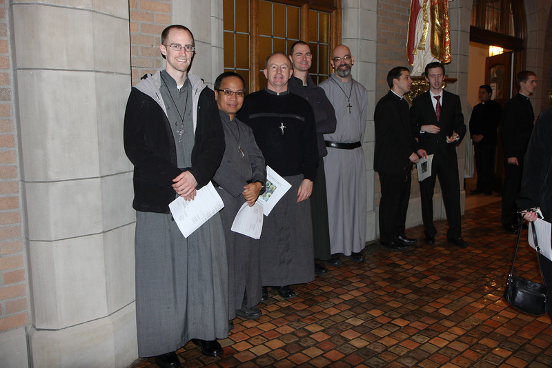 Some of the SOLT brothers studying at Sacred Heart Major Seminary in Detroit