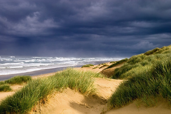 Storm and Dunes, Waldport, OR