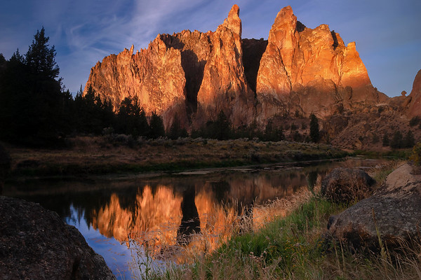 Smith Rock and the Crooked River, Smith Rock State Park, Terrebonne, OR