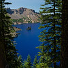 Phantom Ship, Crater Lake Oregon