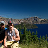 Shaun and Hayden at Crater Lake, Oregon