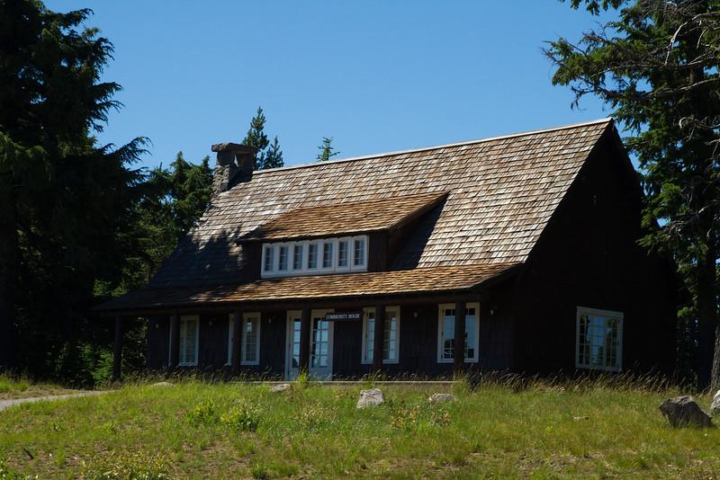 Community House at Crater Lake, Oregon
