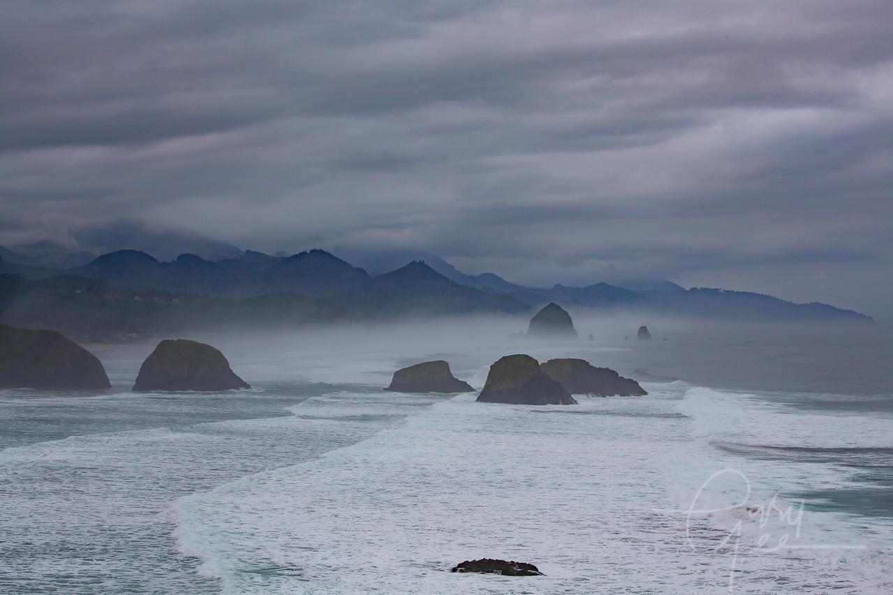 Bird Rocks - Chapman Point Oregon
