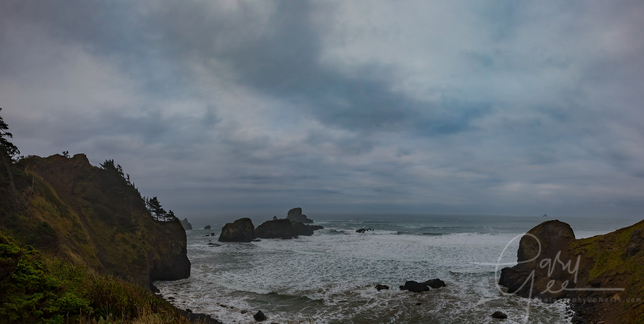 Ecola Point Oregon Coast