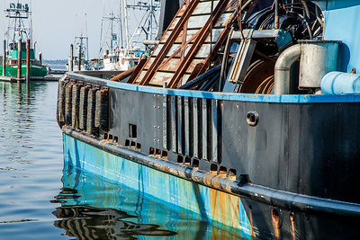 Working boats at Charleston Marina, Cape Arago, Oregon.