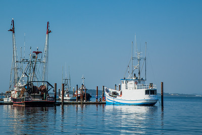 Working boats at Charleston Marina, Coos Bay, Oregon.