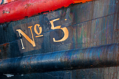 Detail on a working boat, Charleston Marina, Coos Bay, Oregon.