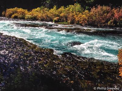 Wizard Falls on the Metolius River