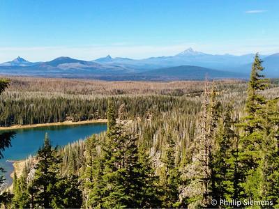 Mt. Washington, Black Crater, Three Finger Jack, and Mt. Jeffreson