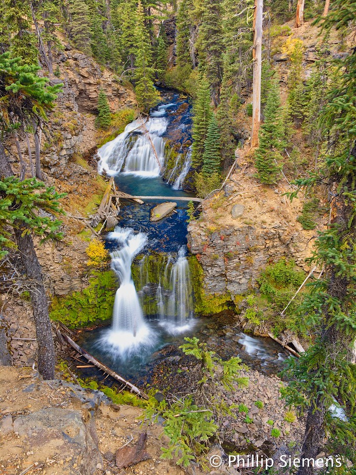 Above Tumalo Falls