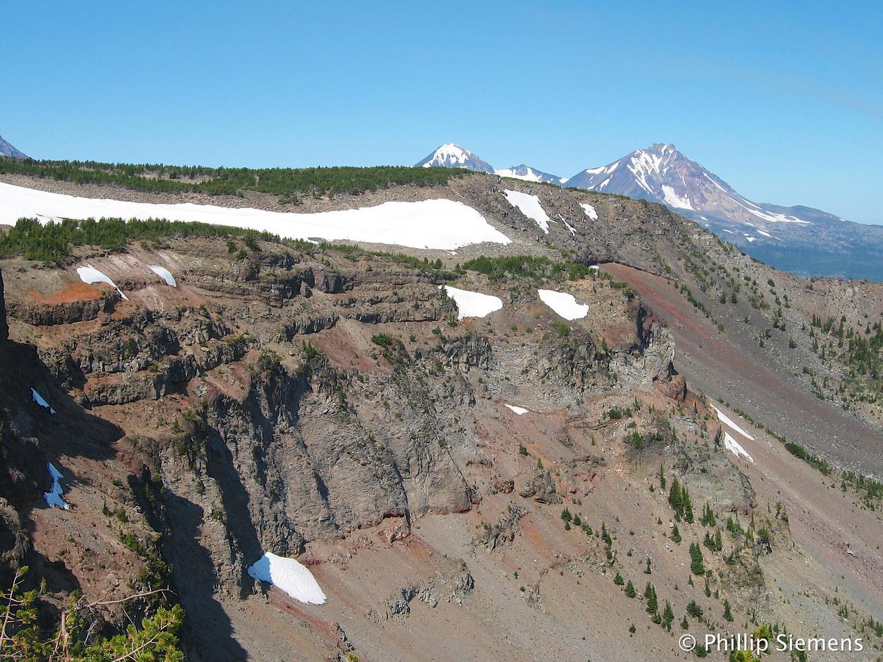 Cliffs on Tam McArthur Ridge