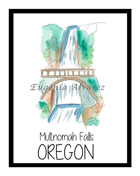 Multhnomah Falls - oregon