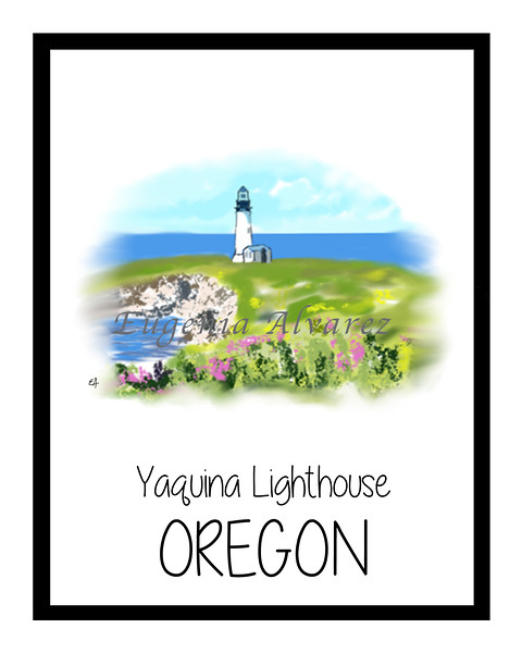 Yaquina Lighthouse - Oregon Coast