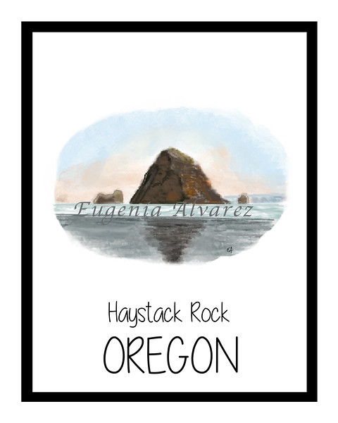 Haystack Rock - Oregon Coast