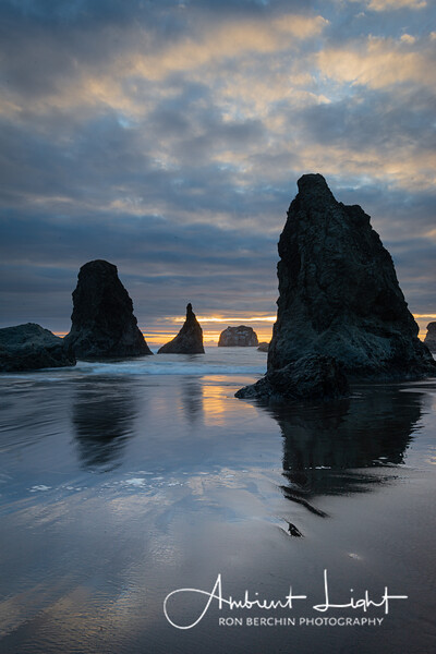 Sunset, Bandon Beach