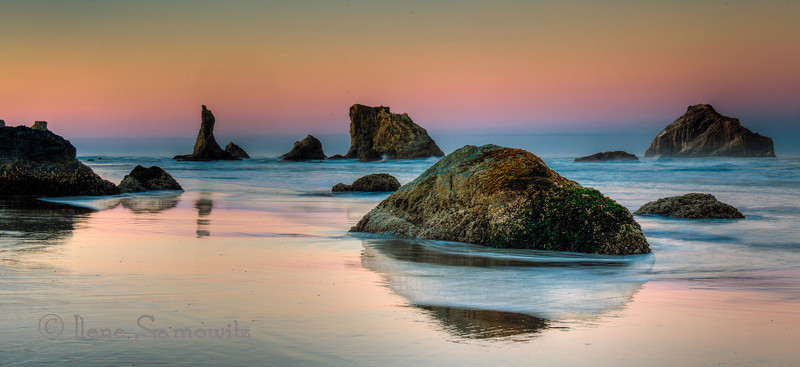 9-26-12 Bandon Dawn - This is a five exposure image taken at sunrise at Bandon, Oregon.  I used Photomatix and Color Effex 4.0.<br /> <br /> Critiques Welcome.