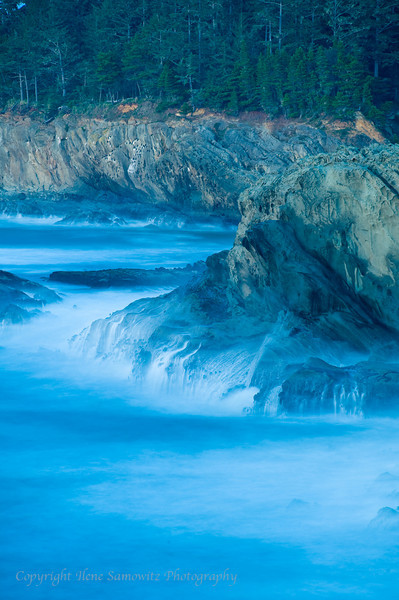 Waves, Cape Arago, Oregon