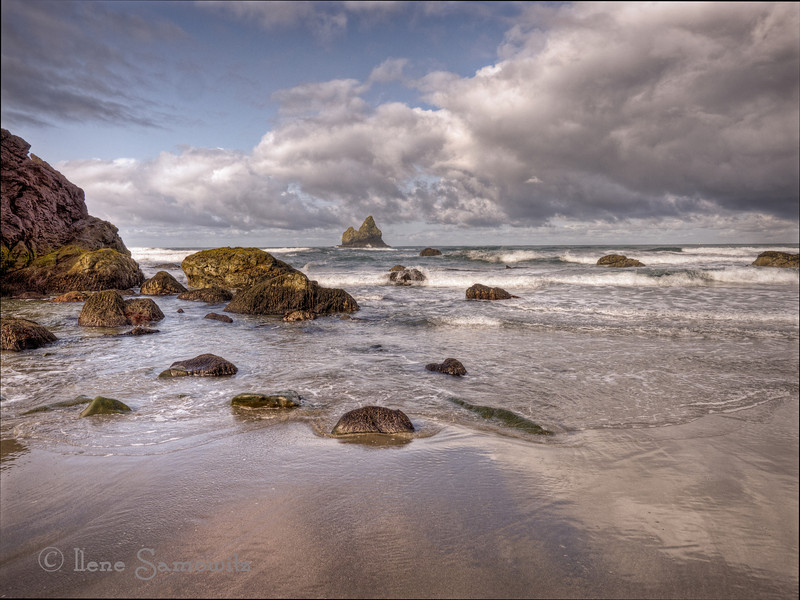 Lone Ranch Beach, Brookings, Oregon<br /> Posted 5-21-12<br /> This is one of my favorite Southern Oregon Beaches.  It is fantastic at low tide.  It is one of the beaches that are a part of Boardman State Park.