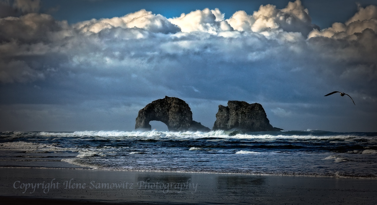Rockaway Beach Storm Clouds<br /> Rockaway Beach, Oregon