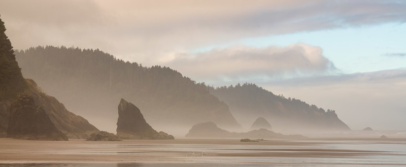 Hug Point Beach ~ Oregon