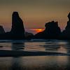Sunset Over Bandon Sea Stacks