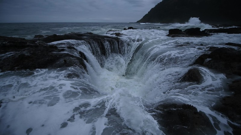Thor's Well Video