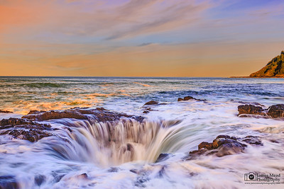 """Delirium,"" Thor's Well, Cape Perpetua, Oregon Coast"