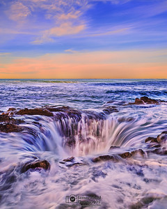 """Pacific Drainpipe,"" Thor's Well, Cape Perpetua, Oregon Coast"