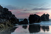 Sunset ends the day - Seal Rock State Park, Oregon - Dennis Krukover - June 2013