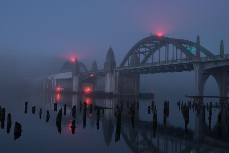 Gothic Bridge in the fog...