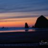 Tillamook Rock Light Sunset