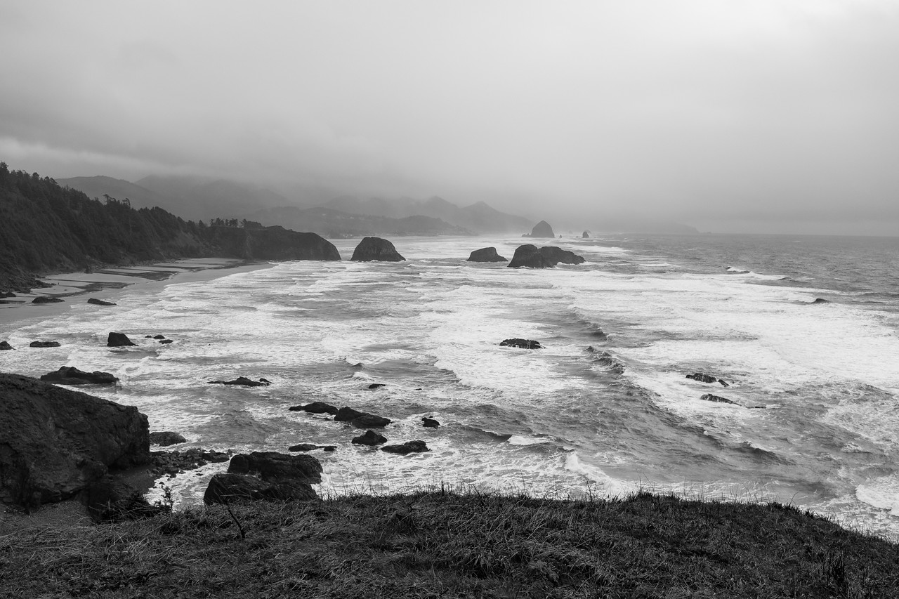 Cannon Beach from Ecola State Park.