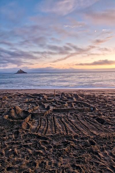 Sand Castle City ~ Agate Beach ~ Port Orford, Oregon