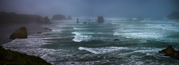 Coquille Point March storm