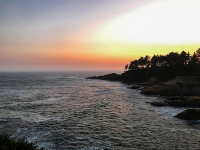 Depoe Bay Sunset
