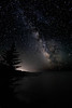 Milky Way Silhouttes - Oregon Coast & Crater Lake - Darren Stratemeier - June 2010
