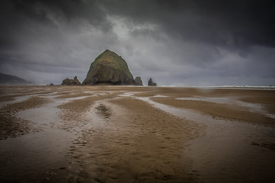 Cannon Beach, OR   Haystack Rock