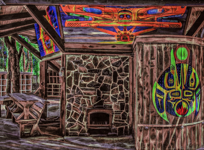 Oregon Country Fair; Sauna;Ritz: © Geoffrey Squier Silver,