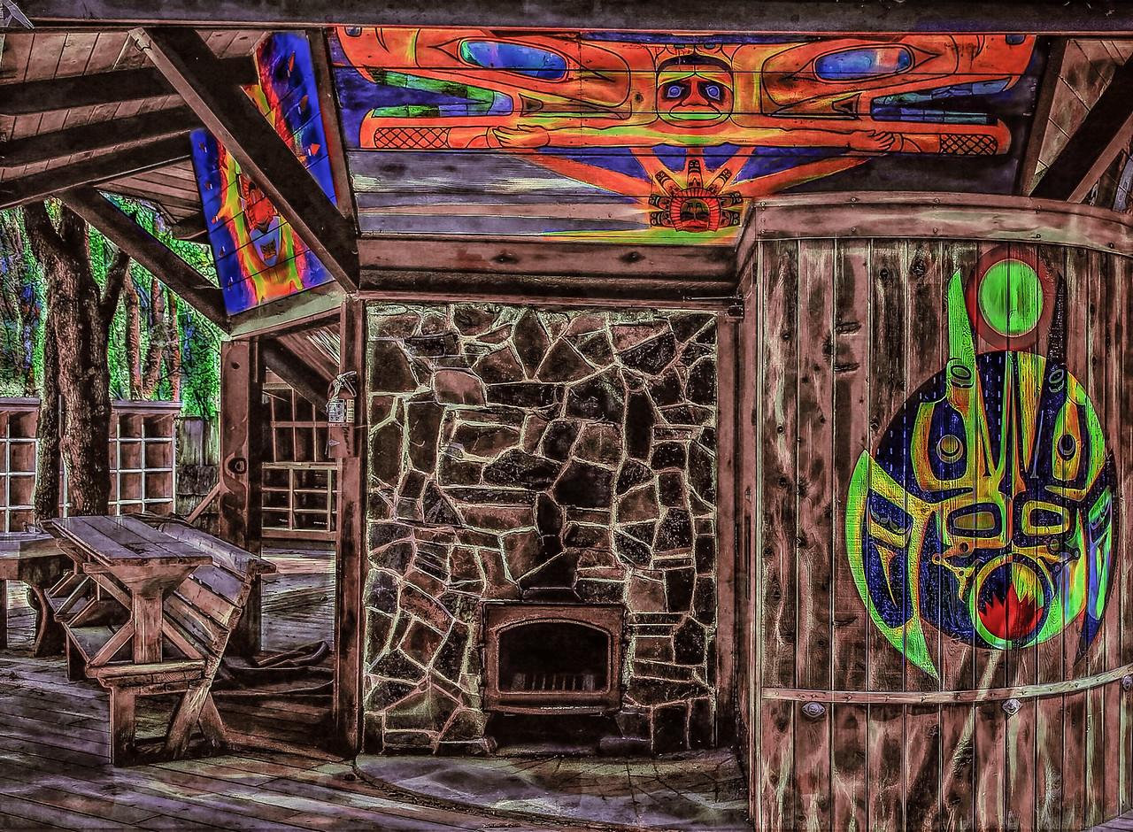 Oregon Country Fair; Sauna;Ritz: © Geoffrey Squier Silver,